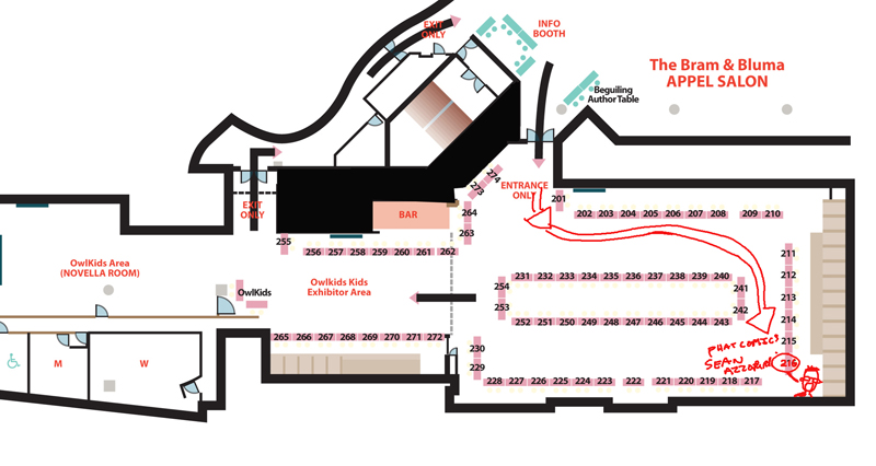 TCAF floor plan