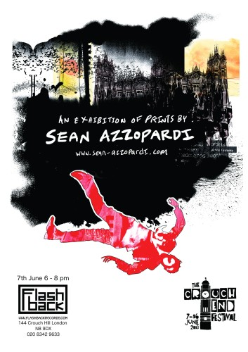 Flashback exhibit poster
