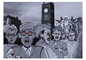 Zombie clocktower