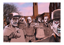 Zombie townhall