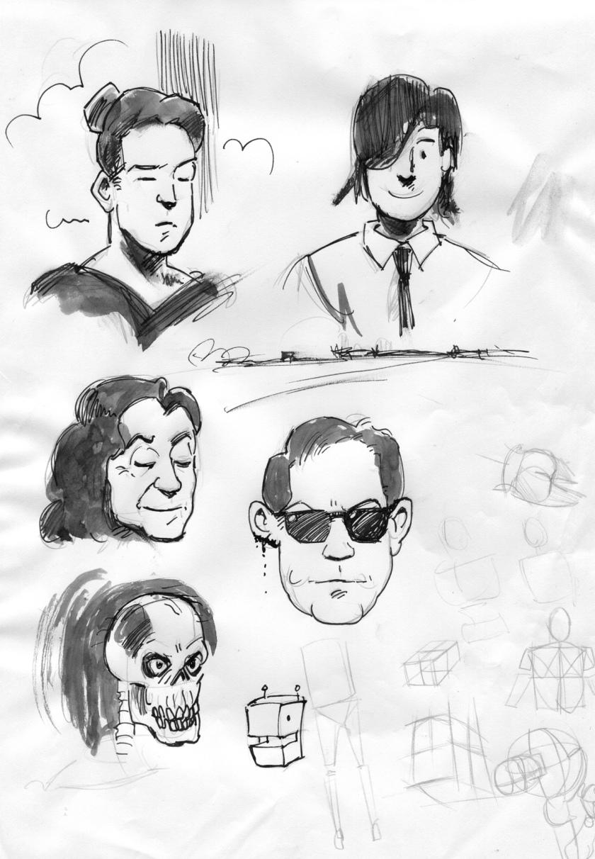 Sketchprocess 1
